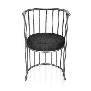 Fashion N You Barrel Chair; Zinc Antique
