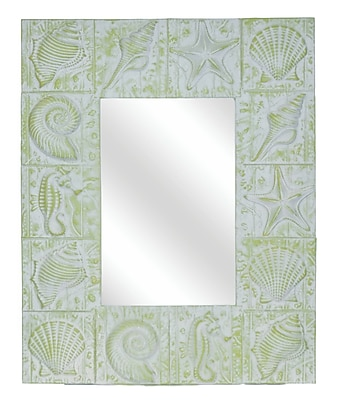 Hickory Manor House Seaside Wall Mirror; Laguna
