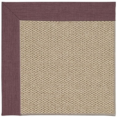 Capel Inspirit Champagne Machine Tufted Bluebell/Beige Area Rug; Square 8'