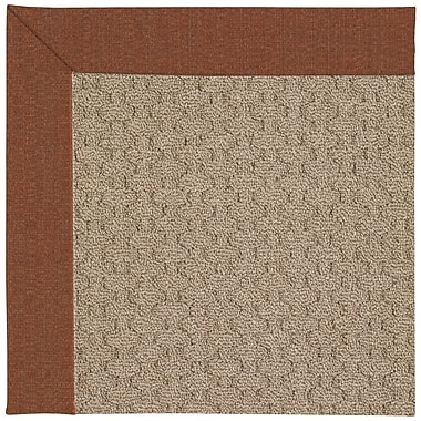 Capel Zoe Grassy Mountain Machine Tufted Dried Chilis/Brown Indoor/Outdoor Area Rug