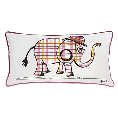 Wildon Home Belita Pillow Cover; Pink