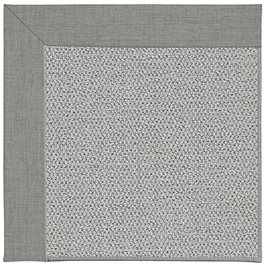 Capel Inspirit Machine Tufted Steel/Gray Area Rug; Rectangle 7' x 9'