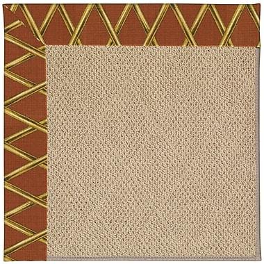 Capel Zoe Machine Tufted Indoor/Outdoor Area Rug; Rectangle 5' x 8'