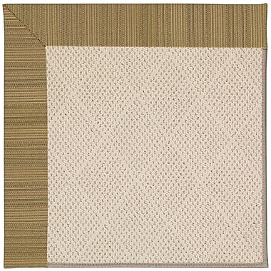 Capel Zoe Light Brown Indoor/Outdoor Area Rug; Rectangle 9' x 12'