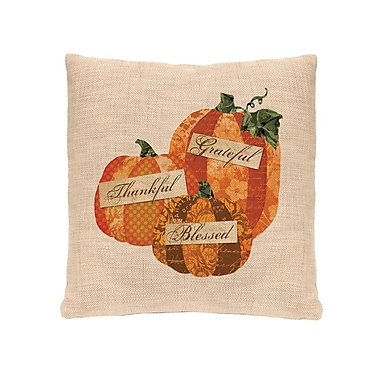 Heritage Lace Patchwork Pumpkin Pillow Cover