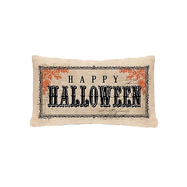 Heritage Lace Vintage Halloween Lumbar Pillow Cover