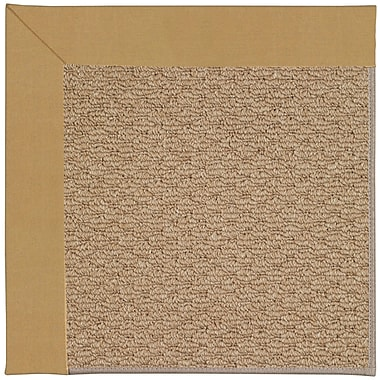 Capel Zoe Machine Tufted Bronze Indoor/Outdoor Area Rug; Rectangle 9' x 12'