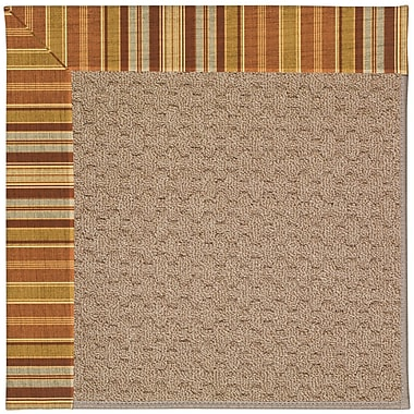 Capel Zoe Grassy Mountain Machine Tufted Indoor/Outdoor Area Rug; Square 4'