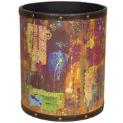 Oriental Furniture India by Gita 2.9 Gallon Fabric Trash Can