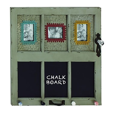 Cole & Grey Wood/Metal Wall Picture Frame