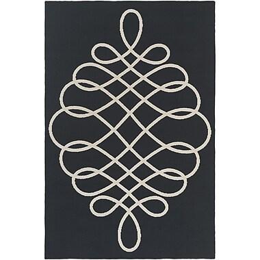 Artistic Weavers Annette Hallie Black/Beige Area Rug; 5' x 7'6''