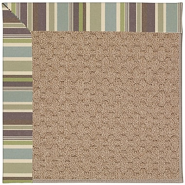 Capel Zoe Grassy Mountain Machine Tufted Indoor/Outdoor Area Rug; Square 10'