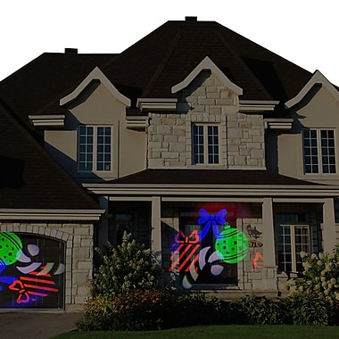 Starscapes Lights LED Spot Projection for Doors & Windows, Holiday Shapes and Images