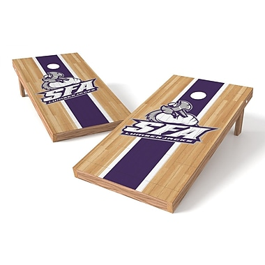 Tailgate Toss NCAA Hardwood Cornhole Game Set; Stephen F. Austin Lumberjacks