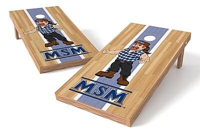 Tailgate Toss NCAA Hardwood Game Cornhole Set; Mount St. Mary's Mountaineers