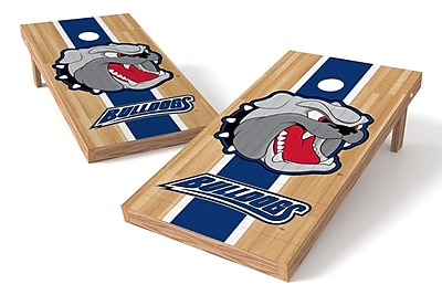 Tailgate Toss NCAA Hardwood Game Cornhole Set; NC Asheville Bulldogs