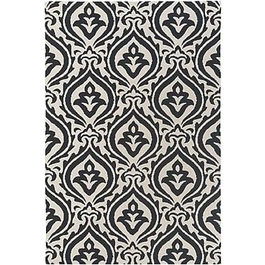 Artistic Weavers Annette Isla Black/Ivory Area Rug; Rectangle 3' x 5'