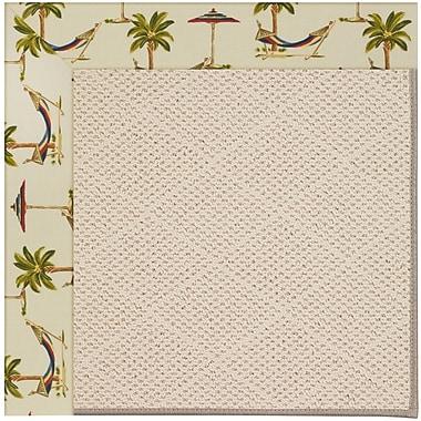 Capel Zoe Beige Indoor/Outdoor Area Rug; Rectangle 8' x 10'