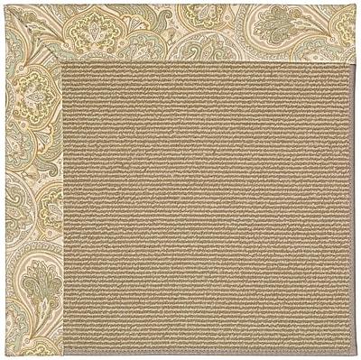 Capel Zoe Light Brown Indoor/Outdoor Area Rug; Rectangle 5' x 8'