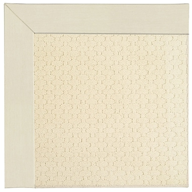 Capel Zoe Beige Indoor/Outdoor Area Rug; Square 4'