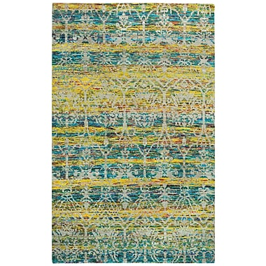Capel Round About Acrobat Hand Knotted Banana Area Rug; 5' x 8'