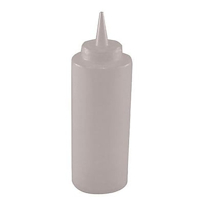 Winco 12 Oz. Clear Squeeze Bottle (PSB-12C)