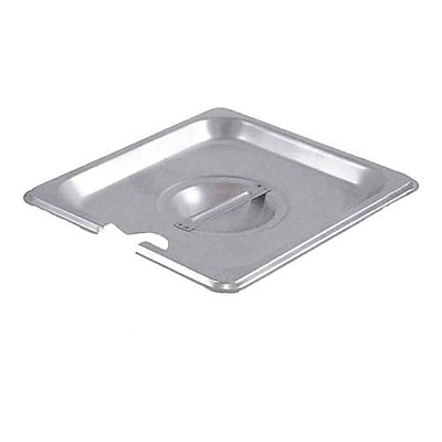 Winco Sixth Size Notched Pan Cover, 6.9