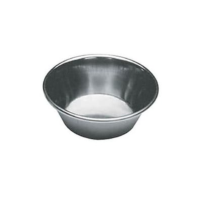 Winco 1 1/2 Oz. Stainless Steel Sauce Cup, 12/CT (SCP-15)