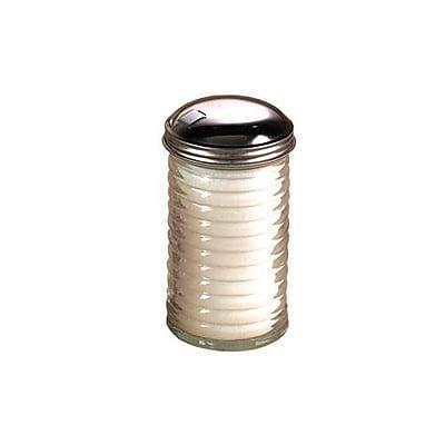 American Metalcraft 12 Oz Glass Beehive Sugar Pourer w/Top (BEE316)