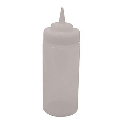 Tablecraft 16 Oz. Wide Mouth Squeeze Bottle (11663C)