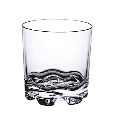Thunder Group 8.5 Oz Polycarbonate Rocks Glass, 12/Pack (PLTHRG008C)