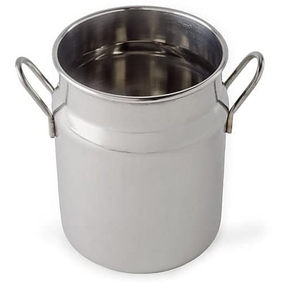 American Metalcraft 2 1/2 Oz. Stainless Steel Milk Can (MICH25) 2473590