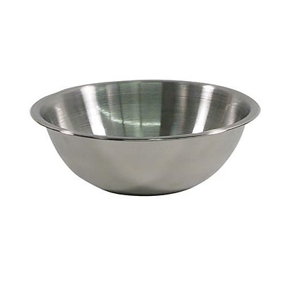 Crestware 3 Qt. Stainless Steel Mixing Bowl (MBP03)