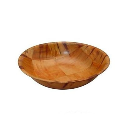 """""Winco 8"""""""" Wooden Salad Bowl (WWB)"""""" 2473684"
