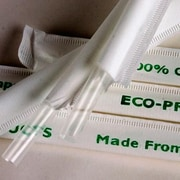 "Eco-Products Jumbo Clear Wrapped Straws, 9 1/2"" L, Clear, 4800/Pack (EP-ST990)"