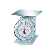 "Winco Mechanical Scale, 2 Lbs., Silver, 3 1/2"" L x 2 1/2"" W x 1"" H"