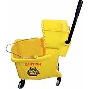 Winco 36 Qt. Mop Bucket and Wringer, 1/Pack (MPB-36)