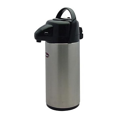Winco Stainless Steel Airpot, 2.5L (APSP-925)