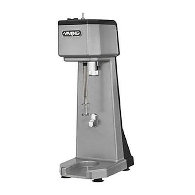Waring Single Spindle Drink Mixer, 1.275 cu.ft, Silver, 20