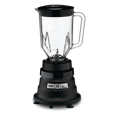 Waring 44 Oz. 2-Speed Bar Blender, .62 cu.ft, Black, 13.875