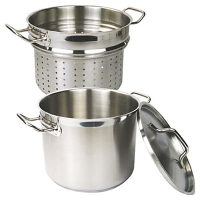 Thunder Group Stainless Steel Pasta Cooker, 12 Qt. (SLSPC012)