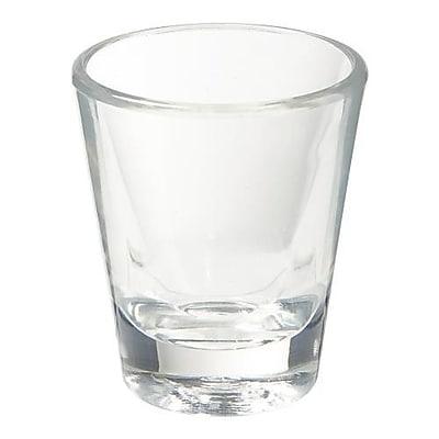 GET Enterprises 1.5 Oz. SAN Shot Glass, 24/Pack (SW-1409-1-CL)