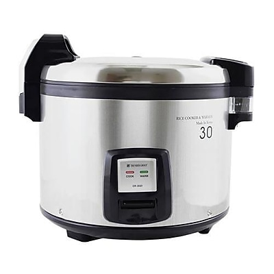 Thunder Group 30 Cup Rice Cooker, Silver