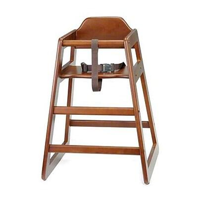 """""""""""Tablecraft Wooden High Chair, 19.75"""""""""""""""" x 19.75"""""""""""""""" x 29"""""""""""""""" (66A)"""""""""""" 2474139"""