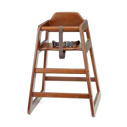 """Tablecraft Wooden High Chair, 19.75"""" x 19.75"""" x 29"""" (66A)"""