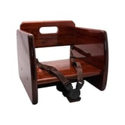 GET Enterprises Mahogany Wood Booster Seat (BS-200-M)