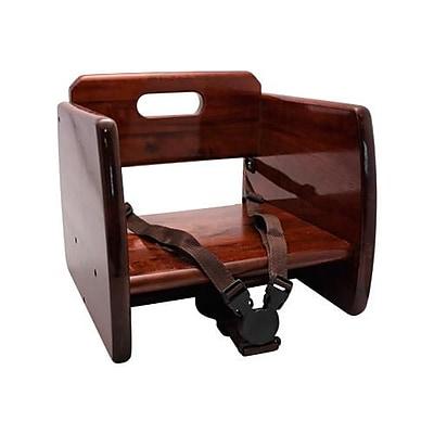 GET Enterprises Mahogany Wood Booster Seat (BS-200-M)