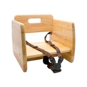 GET Enterprises Natural Wood Booster Seat (BS-200-N)