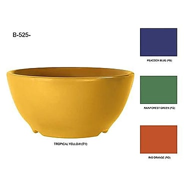 GET Enterprises Mardi Gras Tropical Yellow 16 Oz. Bowl, 24/Pack (B-525-TY)