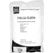 "San Jamar Grade 40 Cheesecloth, 151"" L x 34"" W, White (G-40-R)"
